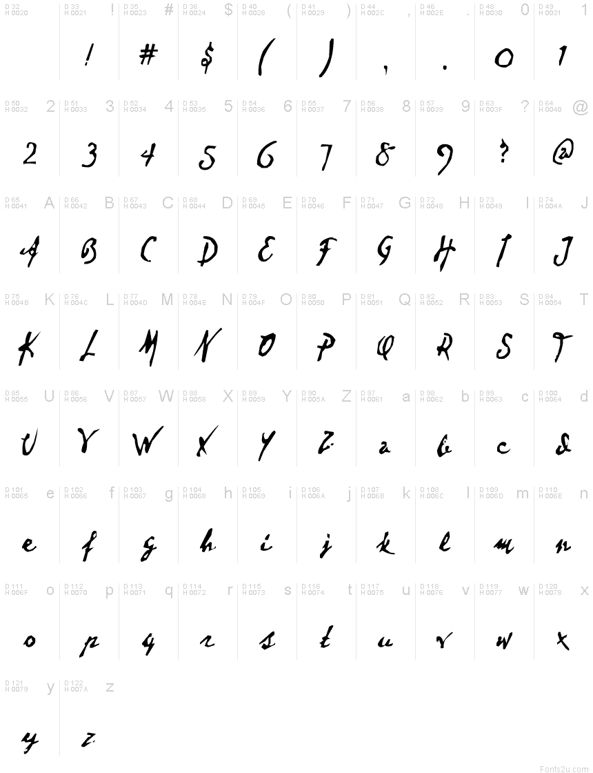 Download Dear Theo font