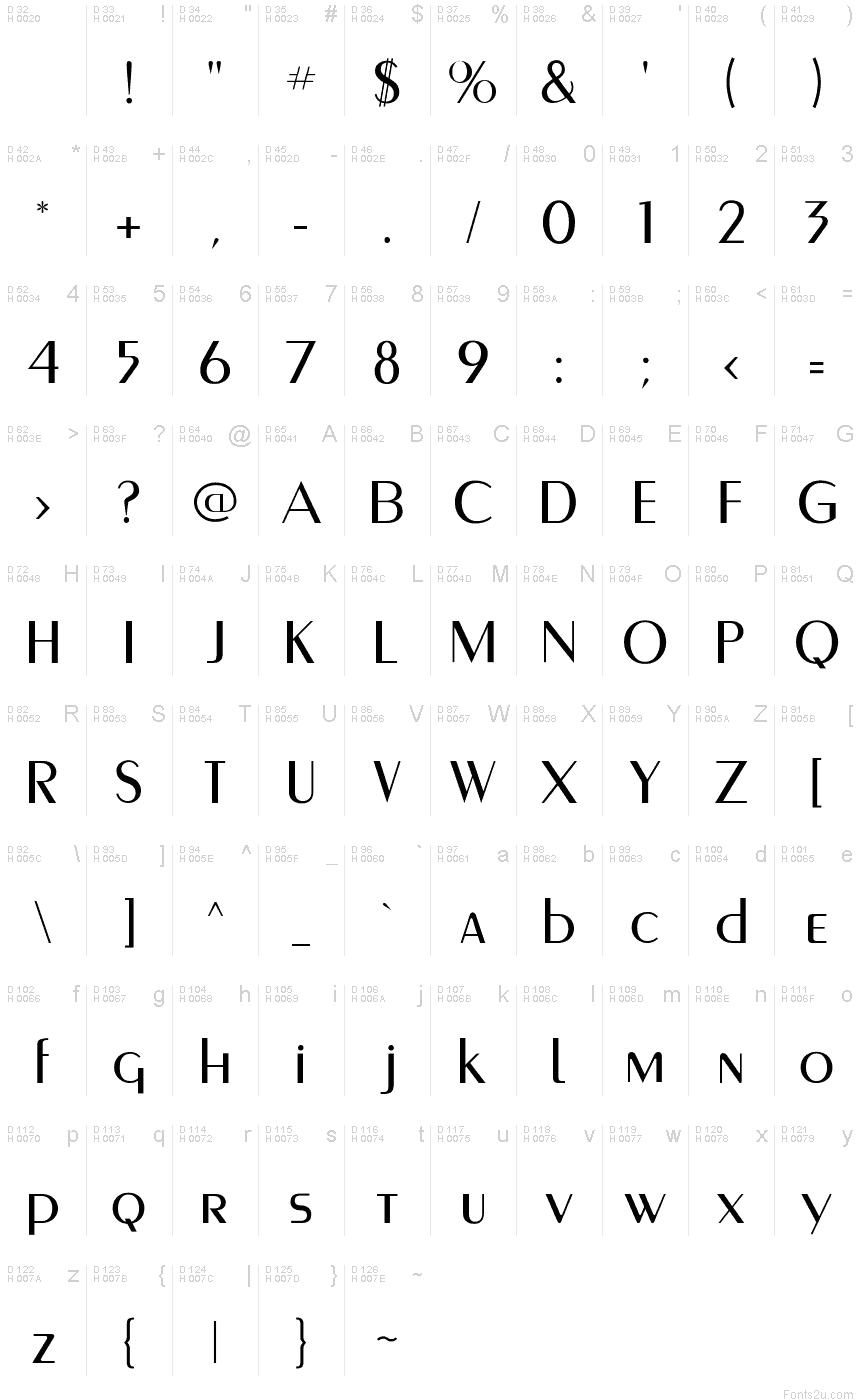 Download MontereyFLF font