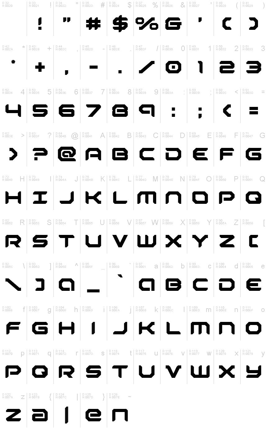 Download Robotaur font