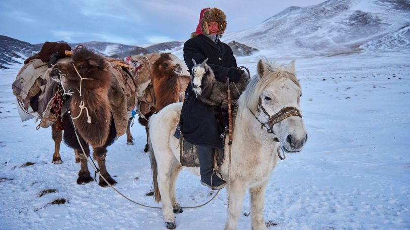Although some Kazakhs continue to maintain a semi-nomadic lifestyle, this way of life has mostly dissipated (Credit: Credit: Tuul & Bruno Morandi)