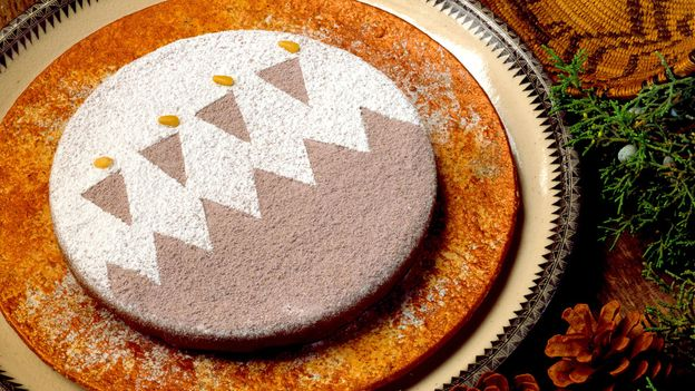 Piñon nut torte is a signature dish for the feast days of the Indian Pueblos of New Mexico (Credit: Credit: Red Mesa Cuisine)