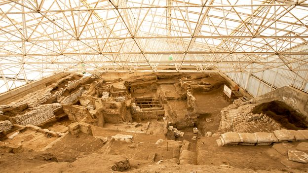 Çatalhöyük is a Neolithic settlement that flourished 9,000 years ago (Credit: Credit: mycan/Getty Images)