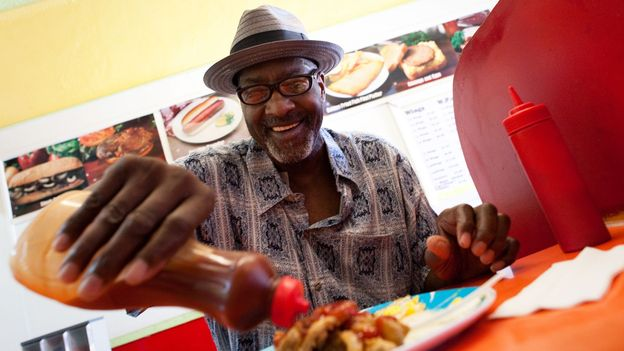 Mambo sauce is both a staple and a source of local pride in Washington, DC (Credit: Credit: The Washington Post/Getty Images)