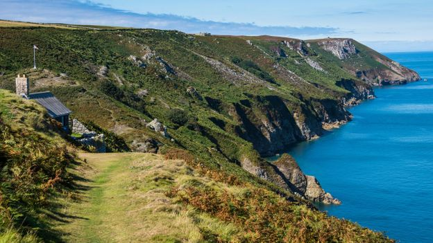 Lundy, which lies just north of Devon in the Bristol Channel, has a wild and lawless history (Credit: Credit: Michael Runkel/Alamy)