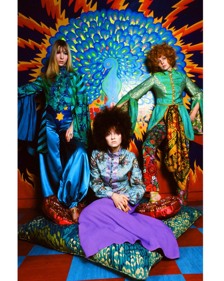 The flamboyant counter culture of the 1960s will be explored in the Fashion and Textile Museum's exhibition, Beautiful People (Credit: Karl Ferris)