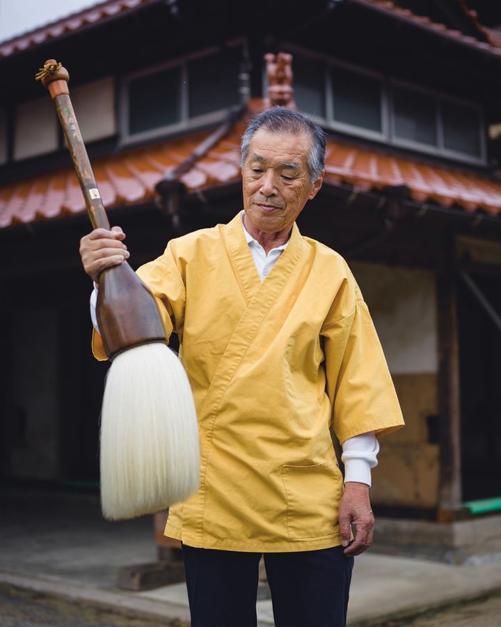 The highly skilled master craftsmen and women in Japan are known as 'living national treasures' (Credit: Irwin Wong, Handmade in Japan, gestalten 2020)
