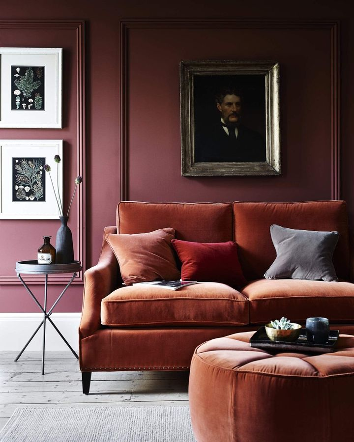 Colour trends come and go – rich, jewel-like hues are a favourite with maximalists (Credit: Homewings)