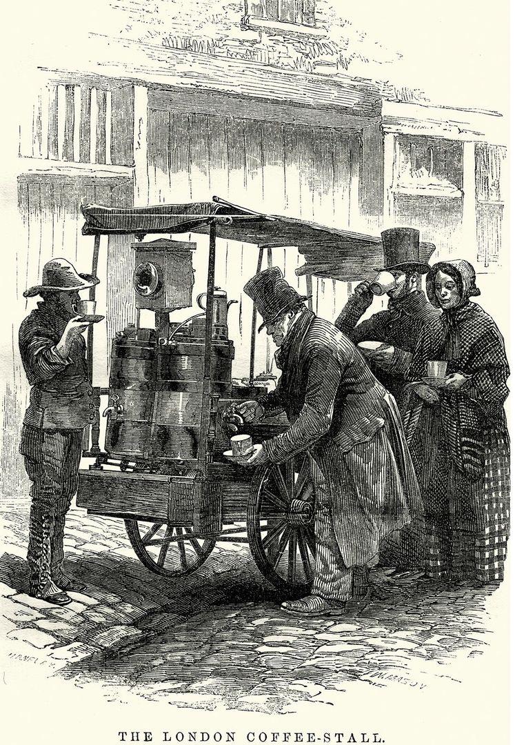 самые первые кофейни
