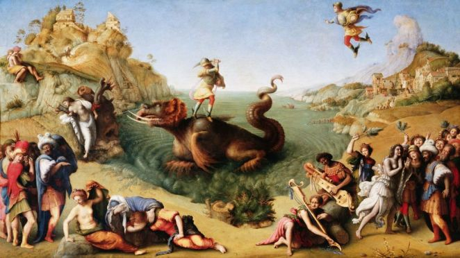 In Perseus Liberating Andromeda by Piero di Cosimo the princess is depicted as white (Credit: Getty Images)