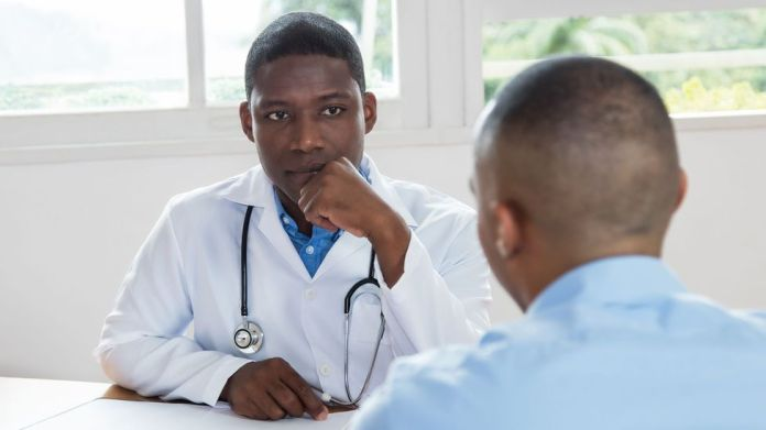 Men seek help for mental issues less often (Credit: Getty)