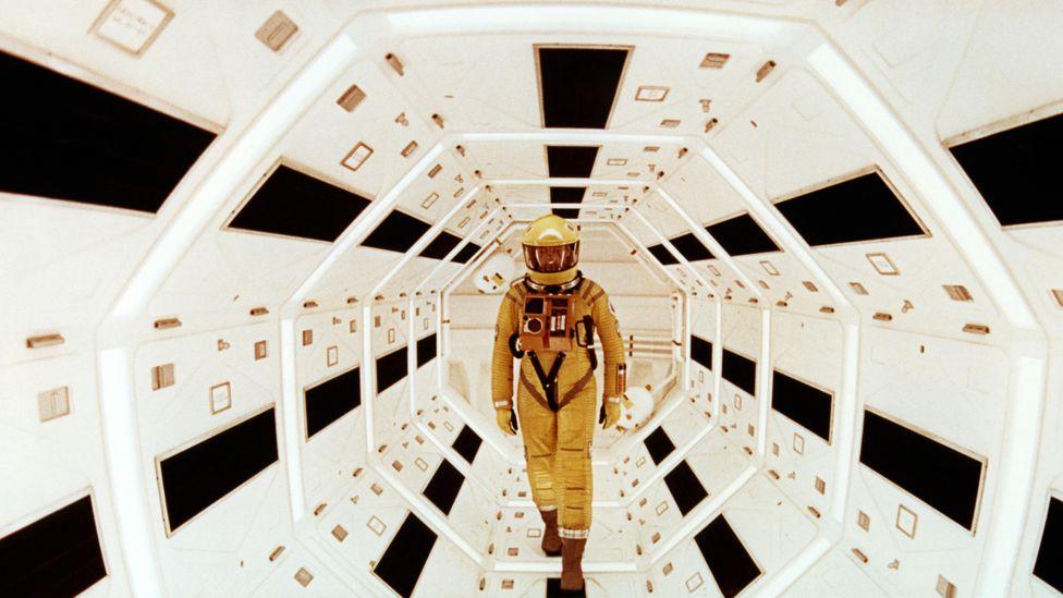 Clarke ve Stanley Kubrick, Clarke'ın kısa öyküsü The Sentinel'i 2001: A Space Odyssey'e geliştirdi (Kredi: Alamy)