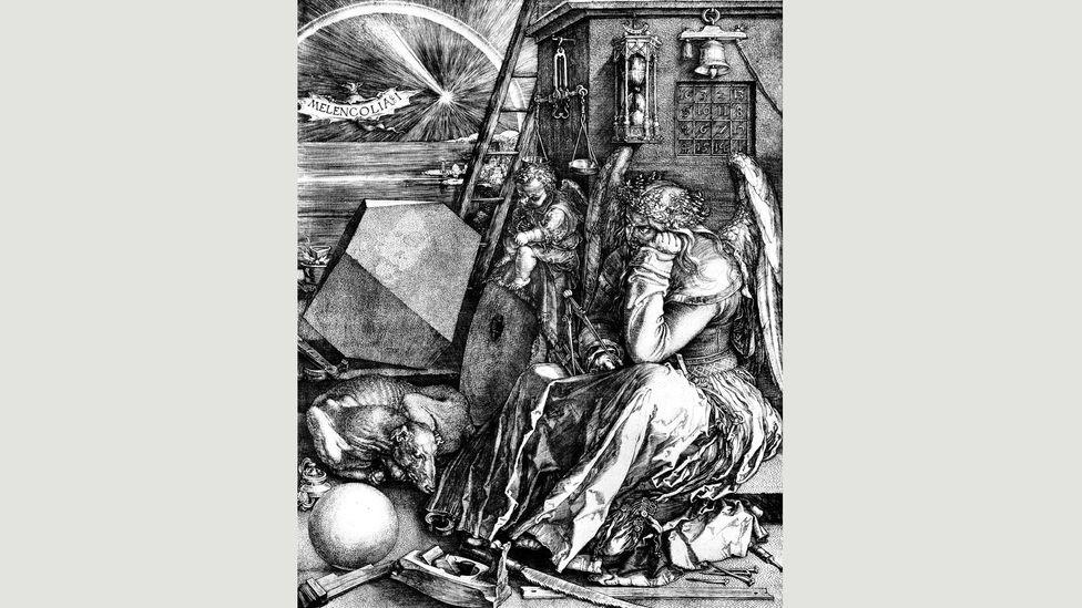 Çözülmesi gereken birden fazla sembolle, Albrecht Dürer'in 16. yüzyıl gravürü izleyiciler için bir muamma oluşturuyor (Kredi: Getty Images)