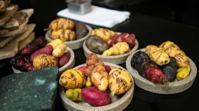 At Virgilio Martinez's restaurants, diners can try a handful of Peru's almost 5,000 species of potatoes (Credit: Cris Bouroncle/Getty Images)