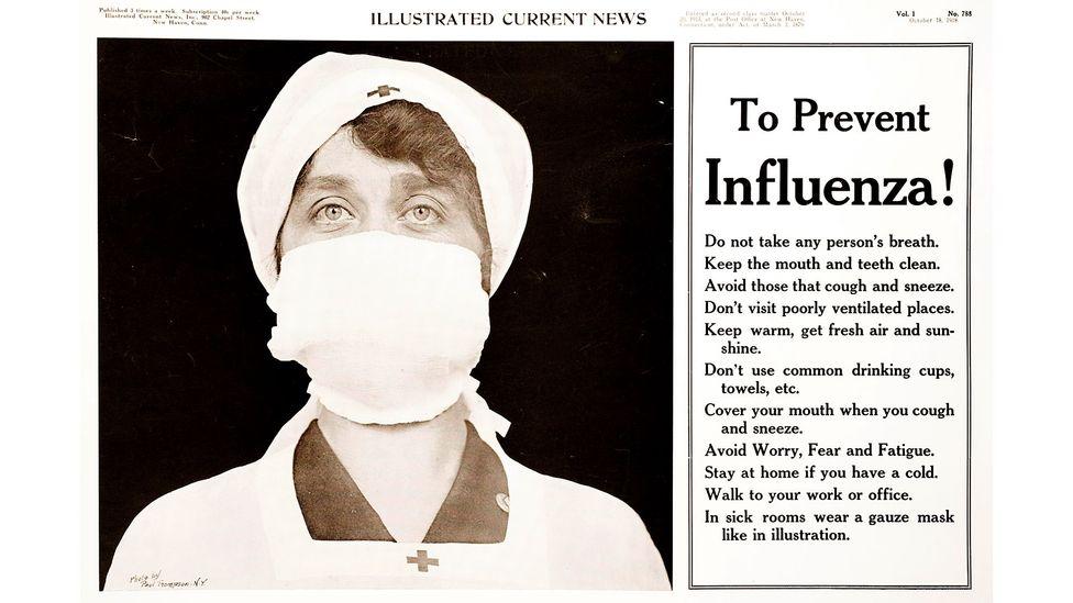 Emma Donoghue'un yeni kitabı The Pull of the Stars, 1918 grip salgını sırasında bir hastanede geçiyor (Kredi: Alamy)
