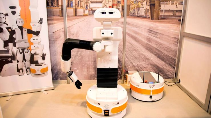 The Tiago robot not only can track down lost keys, but provide companionship (Credit: Alamy)