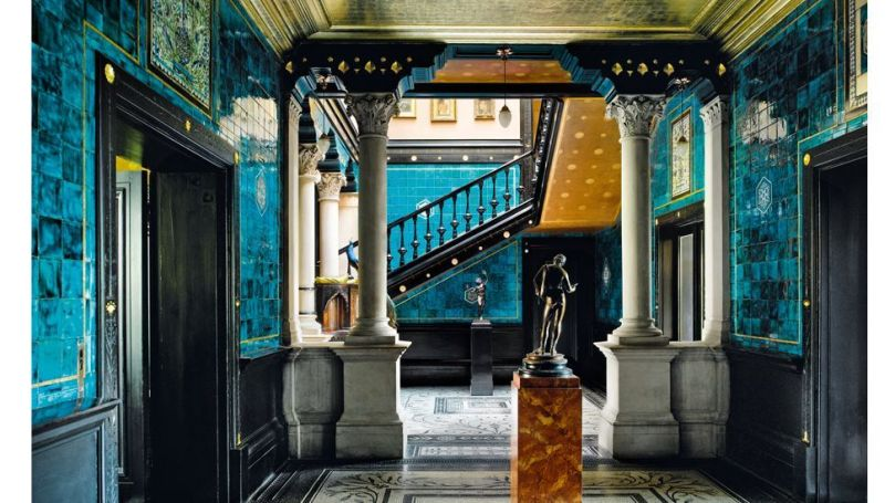 The sumptuous Leighton House in London reflects the travels of the artist Lord Leighton (Credit: Life Meets Art/ Phaidon)