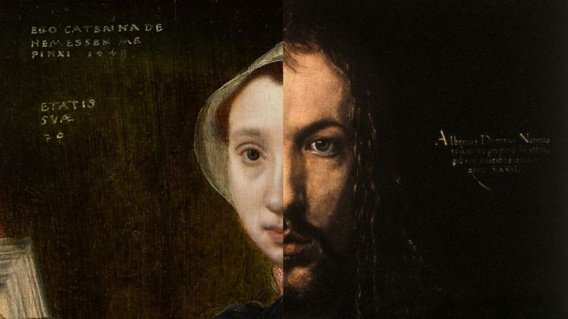 As with Dürer's image, Hemessen collated her identity with that of Christ (Credit: Getty Images)