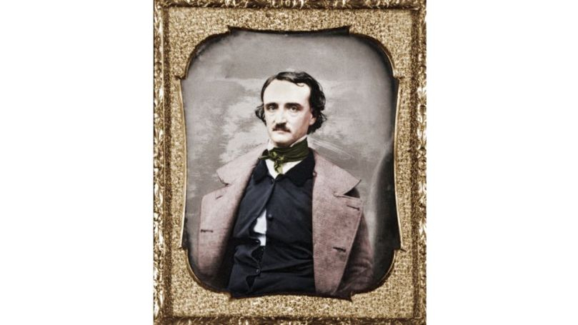 The US writer Edgar Allan Poe, pictured in 1848, was a master of the Gothic genre (Credit: Getty Images)