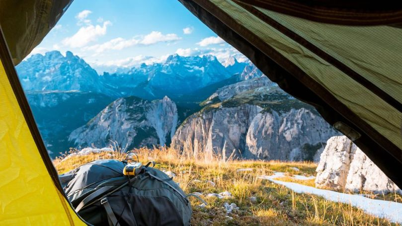 Much of the Grand Italian Route requires hikers to camp, but a network of small hostels and inns are being developed (Credit: Credit: Tetyana Kochneva/Alamy)