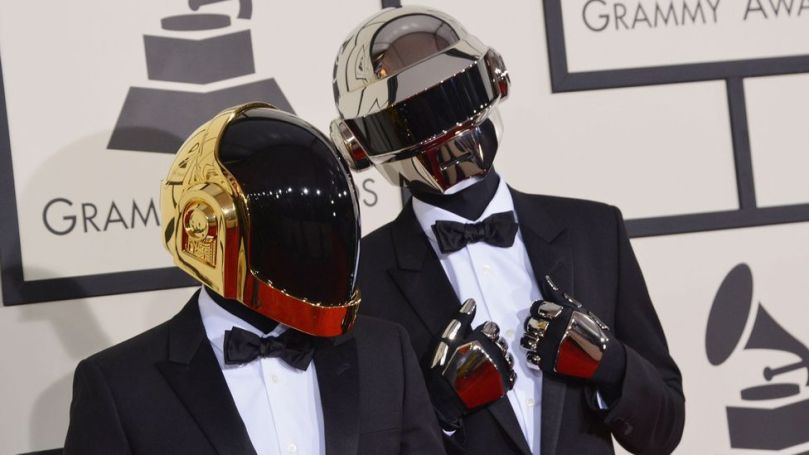 French electro duo Daft Punk split last month after successfully preserving their mystique – and hiding their faces – for most of their 28-year recording career (Credit: Alamy)
