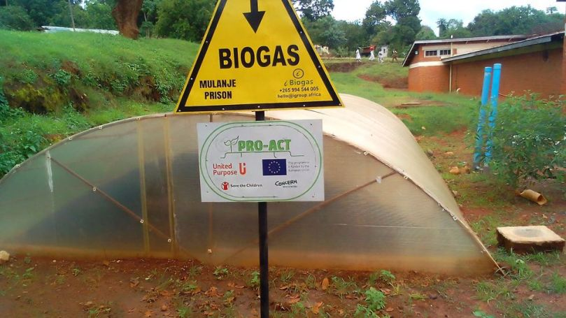 Biogas can be harnessed from human poo with the help of a simple digester – turning waste into fuel (Credit: Madalitso Wills Kateta)