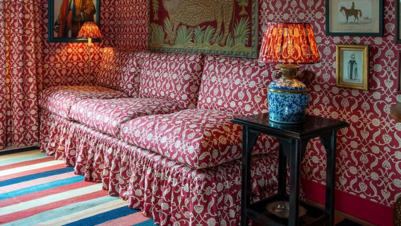 The eclectic style of interior designer Lulu Lytle is said to be admired by Carrie Symonds, the UK PM's fiancée (Credit: Soane/ Lulu Lytle sample image)