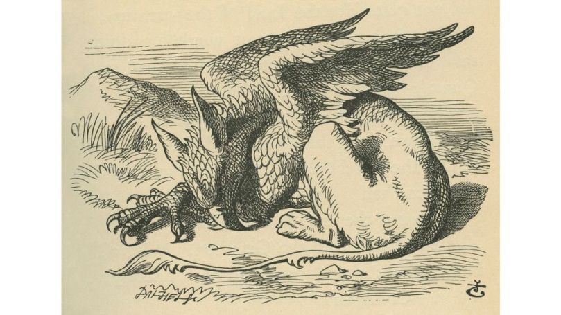 Fossils discovered in the past may have helped inspire tales of mythical creatures such as the griffin (Credit: Culture Club/Getty Images)