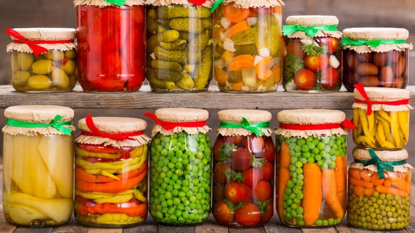 Before refrigeration and flash freezing, produce like vegetables had to be pickled to make them edible through the long winter months (Credit: Getty Images)