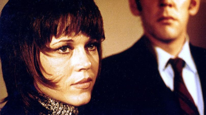 Alan J Pakula's Klute, starring Jane Fonda and Donald Sutherland, reflected the rise of second-wave feminism (Credit: Alamy)