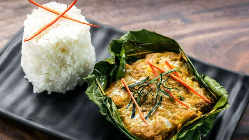 Prahok stars in Cambodia's national dish, a fragrant fish curry called amok (Credit: jackmalipan/Getty Images)