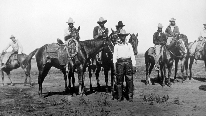 Black cowboys were essential in helping to settle the western US (Credit: Glasshouse Images/Alamy)