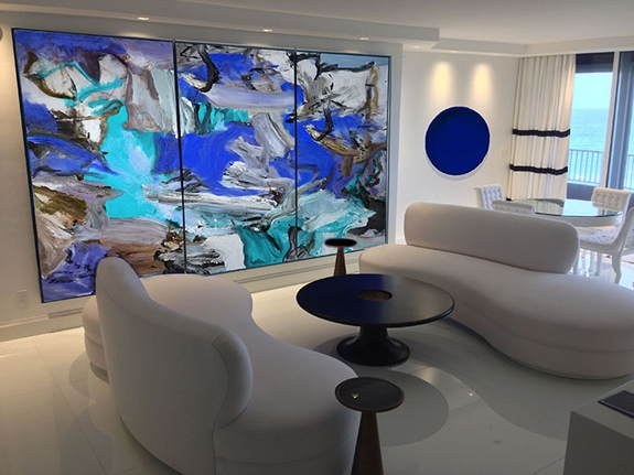 1 Jupiter Island modern living room