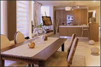 Dining furniture set and kitchen