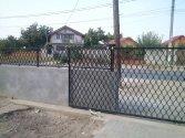 Fence - before finishing