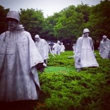 So much stunning public art: Korean War Veterans Memorial