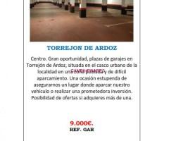 PLAZAS DE GARAJE EN TORREJÓN DE ARDOZ