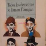 Libro todos los detectives de llaman flanagan