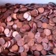 Monedas de 1 y 5 céntimos de USA variadas al peso