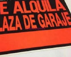 PLAZA DE GARAJE EN LA GARENA