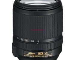 Objetivo original Nikon 18 - 140