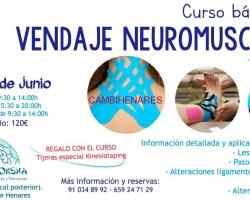 Curso Vendaje Neuromuscular