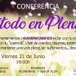 Presentación/Conferencia gratuita 'Método en Plenitud'