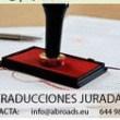 TRADUCTOR JURADO.