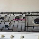 Cocina de gas.