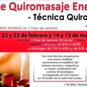 Curso intensivo Quiromasaje Energético -Técnica Quiro'ki-