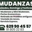 MUDANZAS PORTES ECONOMICOS.