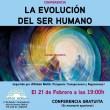 CONFERENCIA GRATUITA: 'La evolución del Ser Humano'