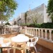 Torrevieja Alicante chalet un dormitorio +patio +solárium +piscina comunitaria