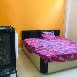 1 BHK Fully Independent Semi Furnished Flat Available On Rent