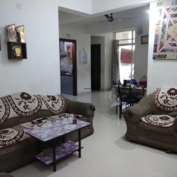 3 BHK Semi Furnished Flat Available On Sale